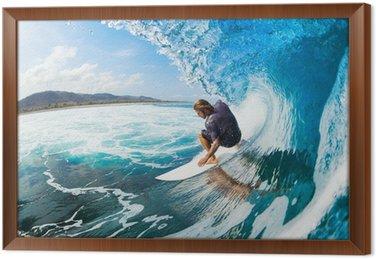 Obraz w Ramie Surfing