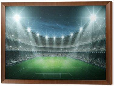Obraz w Ramie Światło Stadium