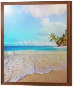 Obraz w Ramie Sztuka Letnie wakacje Ocean Beach