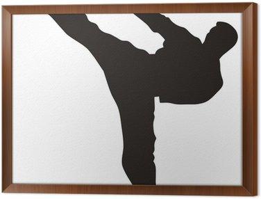 Obraz w Ramie Sztuka walki