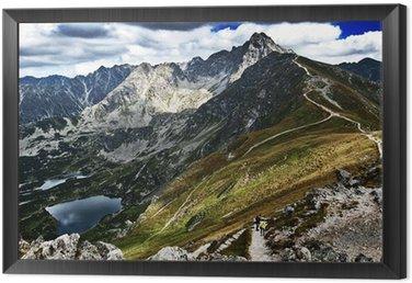 Obraz w Ramie Tatry - Kasprowy Wierch View