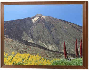 Obraz w Ramie Teneryfa Teide Mountain
