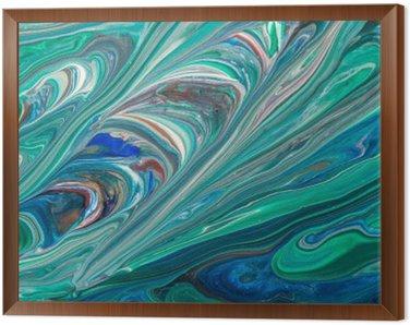 Obraz w Ramie Textura abstrata de Fundo.