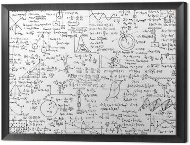 Obraz w Ramie Tło Fizyka