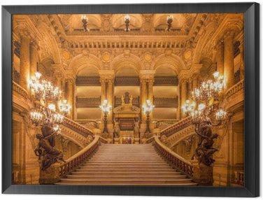Obraz w Ramie Treppenhaus in der Oper