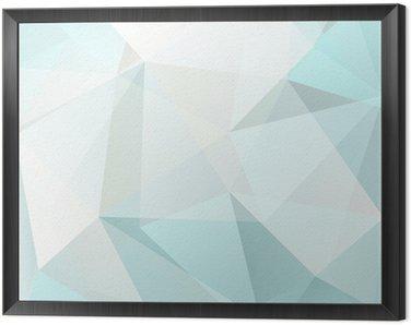 Obraz w Ramie Trójkąt abstrakcyjne tła, wektor