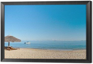 Obraz w Ramie Tropikalna plaża panorama