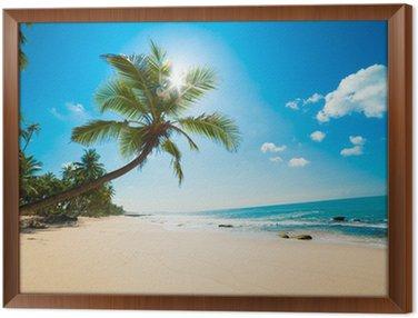 Obraz w Ramie Tropikalna plaża