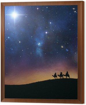 Obraz w Ramie Trzech mędrców