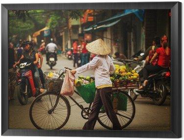 Obraz w Ramie Wietnamczycy. Hanoi