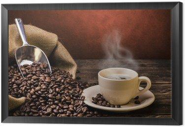 Obraz w Ramie Wrzenia czarna kawa
