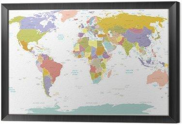 Wysokiej szczegół świata map.layers używane.