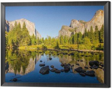 Obraz w Ramie Yosemite