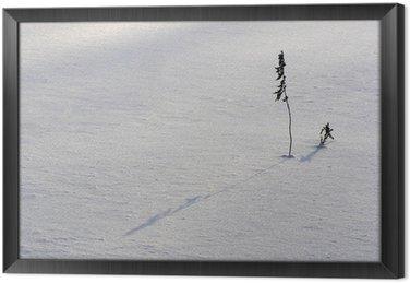Obraz w Ramie Zima ikebana