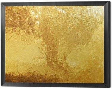 Obraz w Ramie Złoto