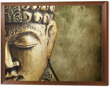 Obraz w Ramie Złoty Budda