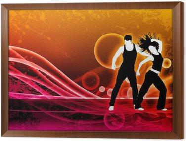 Obraz w Ramie Zumba Fitness tańca