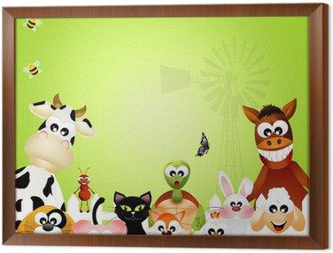 Obraz w Ramie Zwierzęta hodowlane
