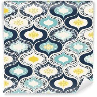Omyvatelná Fototapeta Bezešvé abstraktní ornament tečky doodle pattern__