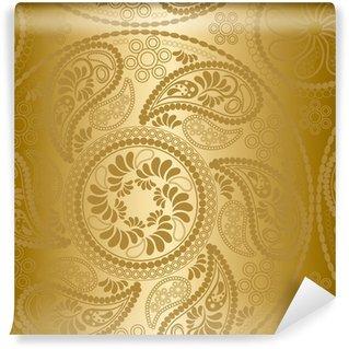 Omyvatelná Fototapeta Bezešvé Gold Mandala vzory