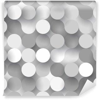 Omyvatelná Fototapeta Bezešvé ploché kruhy