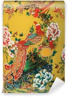 Omyvatelná Fototapeta Čínský váza v Thajsku.