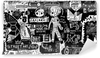 Omyvatelná Fototapeta Graffiti