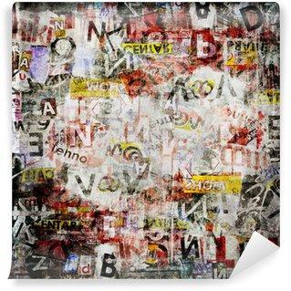 Omyvatelná Fototapeta Grunge texturované pozadí