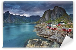 Omyvatelná Fototapeta Norsko