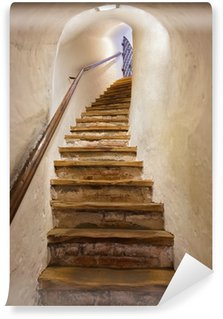 Omyvatelná Fototapeta Schody v hradě Kufstein - Rakousko