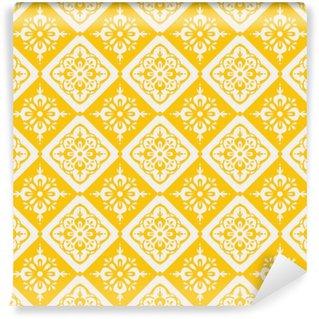 Omyvatelná Fototapeta Seamless vintage pattern
