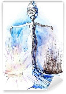 Omyvatelná Fototapeta Spravedlnost
