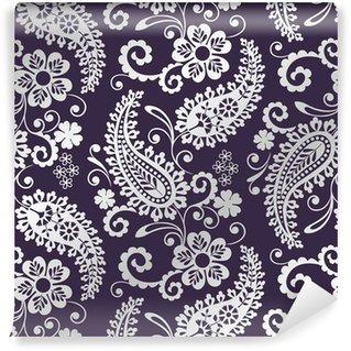Omyvatelná Fototapeta Tradiční paisley květinovým vzorem, textil, Rajasthan, Indie