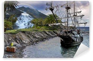 Omyvatelná Fototapeta Treasure Hunt