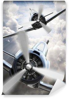 Omyvatelná Fototapeta V Fighters. Retro technologie téma.