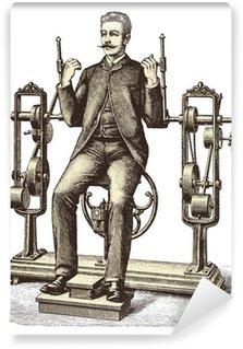 Omyvatelná Fototapeta Victorian cvičení (1)