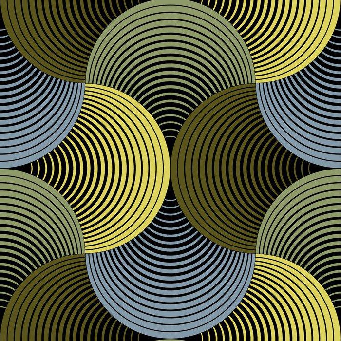 Ozdobny płatki siatki geometryczne, abstrakcyjne wektor powtarzalne