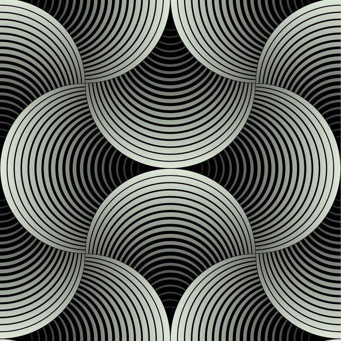 Fototapeta Vinylowa Ozdobny płatki siatki geometryczne, abstrakcyjne wektor powtarzalne - Tematy