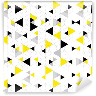 Papel de Parede em Vinil Fundo padrão geométrico