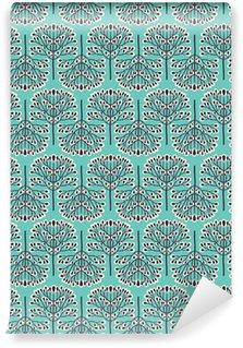 Papel de Parede em Vinil Seamless forest pattern