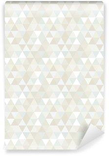 Papel de Parede em Vinil Seamless Triangle Pattern, Background, Texture