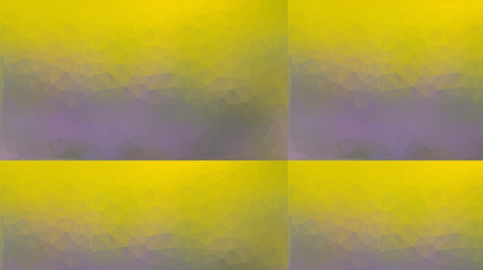 Papel de Parede em Vinil Yellow and purple abstract polygon triangle background - Fundos