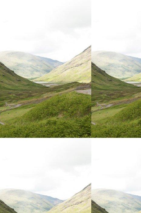 Papel Pintado Estándar Las montañas Escocia - Europa