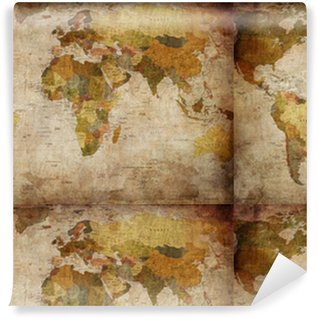Colecciones papeles pintados est ndar pixers vivimos - Papel pintado mapamundi ...