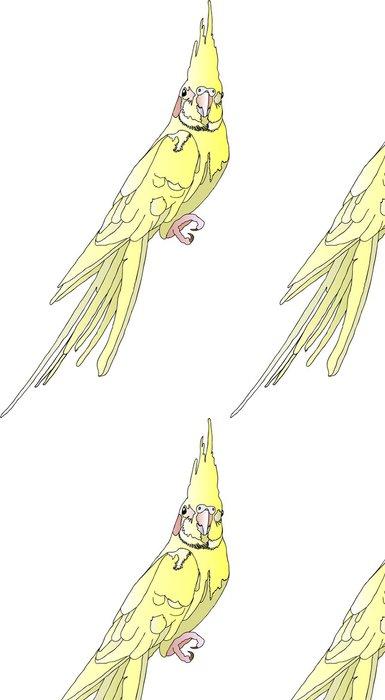 Papel Pintado Estándar Parrot - Korella - Vinilo para pared