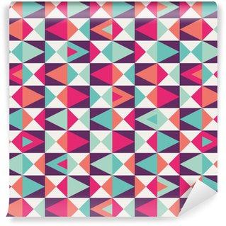 Pixerstick Papel Pintado Seamless patrón geométrico