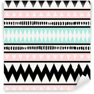 Pixerstick Papel Pintado Seamless pattern Ethnic
