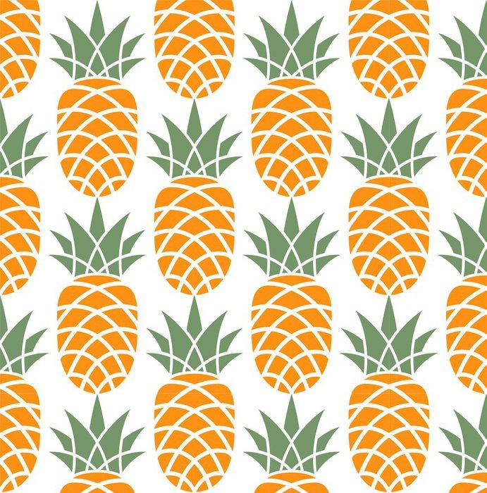 papier peint motifs vinyle ananas patron pixers nous vivons pour changer. Black Bedroom Furniture Sets. Home Design Ideas
