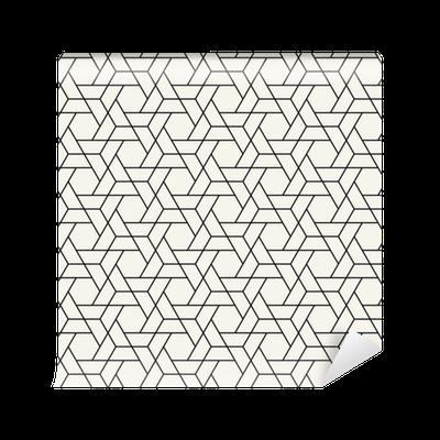 papier peint motifs g om trie abstraite hipster noir et. Black Bedroom Furniture Sets. Home Design Ideas