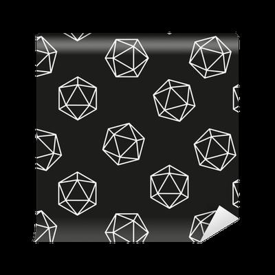 papier peint motifs mod le g om trique hexagone mod le. Black Bedroom Furniture Sets. Home Design Ideas